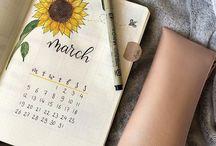 Planner, Bullet journal ✡