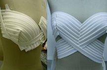 vestido drapeados