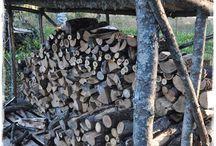 Prístrešok na drevo