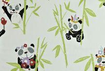Panda | Kindergordijnen | Prestigious Textiles PT | Kunst van Wonen
