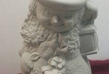 Ceramic - Snowman
