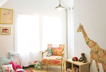 kids room / by Rachel Hassan-Reep