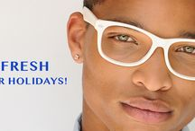 Your Holiday Party Starts Here! / Celebrate Holidays In Style! Find Fresh Looks from http://shop.GeekEyewear.com