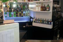 Restyling bar anni 90 / Bar rinnovato con pochi accorgimenti
