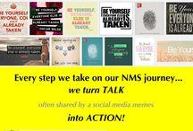 Ah-ha's!  Oh-no's!  Yikes!! Wow's n' such.... / NMS Team members blog posts, social media (Facebook, Twitter, etc.) permalinks - etc. - documenting personal, emotional, social, professional, financial and spiritual growth.