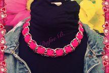 Dafne B. / E'l'accessorio giusto che fa la differenza..... Qui lo troverai  Solo bijoux fatti a mano con amore ❤️