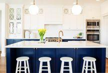 kitchens two tone