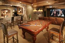 Man Cave / The man cave is the only place where a man go to get away from the pressures of daily family life. It is his personal space that screams testosterone. Man Caves come in all shapes, sizes and themes. Here are some that we thought were cool! / by Gotham Cigars