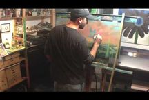 Videos / Videos - some are paintings I've completed, others are just for fun.
