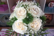 ramo de novia. ..natural
