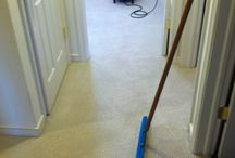 Carpet cleaning, from dirty to new in several steps. / Eco-friendly carpet cleaning is important to you, your kids, your pets and your home.