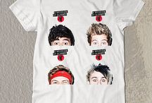 New t-Shirt Luke Michael Ashton Colum
