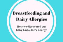 Dairy-Free Breastfeeding / Dairy-free, Dairy-allergies, Breastfeeding, dairy-free breastfeeding, baby dairy allergies, dairy-free products, dairy-free recipes, lactose free babies