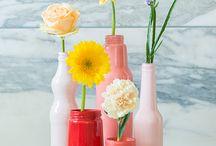 Vases, bocaux, verres, bouteilles, boites ....