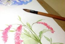 drawning and painting