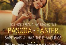 Páscoa 2015 | Easter 2015 / Nos Hotéis Real, a Páscoa sabe mais a férias em família, a domingo à mesa e a bem-estar. |  At Real Hotels, Easter has the flavour of the first family holidays, sunday meals and well-being.