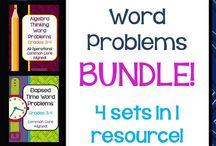 Math- Word Problems