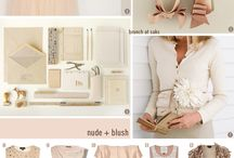 Nude and blush