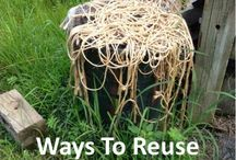 Great Ideas! / Reuse/Recycle