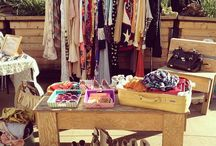 Flea market / This board has ideas on how to organize your garage sale or flea market booth.