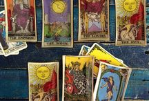 tarot cards, oracle, runes...divination / by Tina Hall