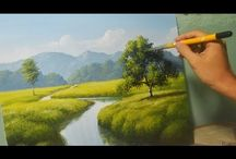 How to paint videoclips
