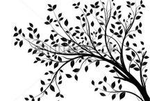 Деревья, веточки