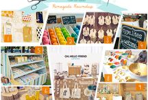 Craft show booth ideas / by Katie