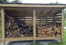Хранения дров