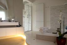 Solodoccia, un tuffo nelle terme padovane / bagno relax oriented con doccia Megius