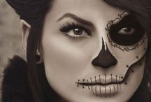 Halloween MAKE-UP ideas / SPOOKY HALLOWEEN is coming … Scary or sexy? How about both … Here are some awesome make-up ideas: