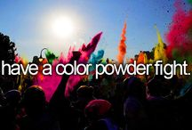 Colour run / Colour