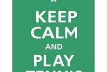 Keep Calm tennis