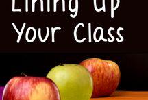 Line up a class