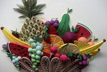 ovocie z fareb.papierikov