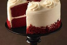 Red velvet cake decoration