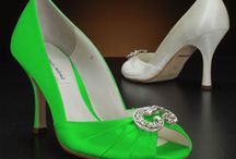 Lime Green Bridal Shoes / Bridal and wedding shoes styles in Lime Green