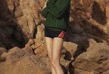 Summer/winter beach shoot
