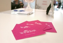 Winkbar - Eyebrow Threading / Winkbar // logo design, brand identity, photography directions, signage