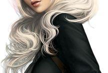 Masculin/Féminin - Les Femmes POSERS 3D