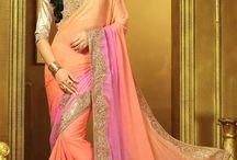 Lace Border Work Sarees Collection / Online wedding special border work Indian sarees full set catalog online - Suratwholesaleshop.com
