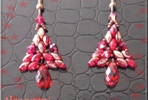 Beading-Earrings / by Stacy Cashio