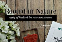 Rooted in Nature Stampin Up