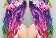 Oh Yeah, Want that hair! / Beautiful colours