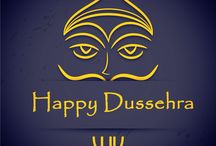 HAPPY DUSSEHRA / A time for celebration, a time for victory of good over bad, a time when world see the example of power of good. Let us continue the same 'true' spirit.  Wish you and your family a very 'HAPPY DUSSEHRA'