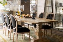 dining room tables and chairs / creating ideas for dining rooms