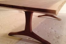 Reclaimed and Salvaged wood furniture / Furniture, design.