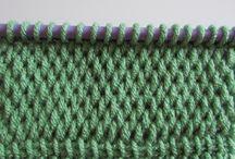 Crochet & Knitting / Hakking, hekling og strikking