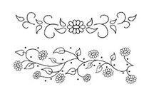 pola embroidery