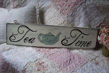 Tea pots and tea time / by Myra Ruperto